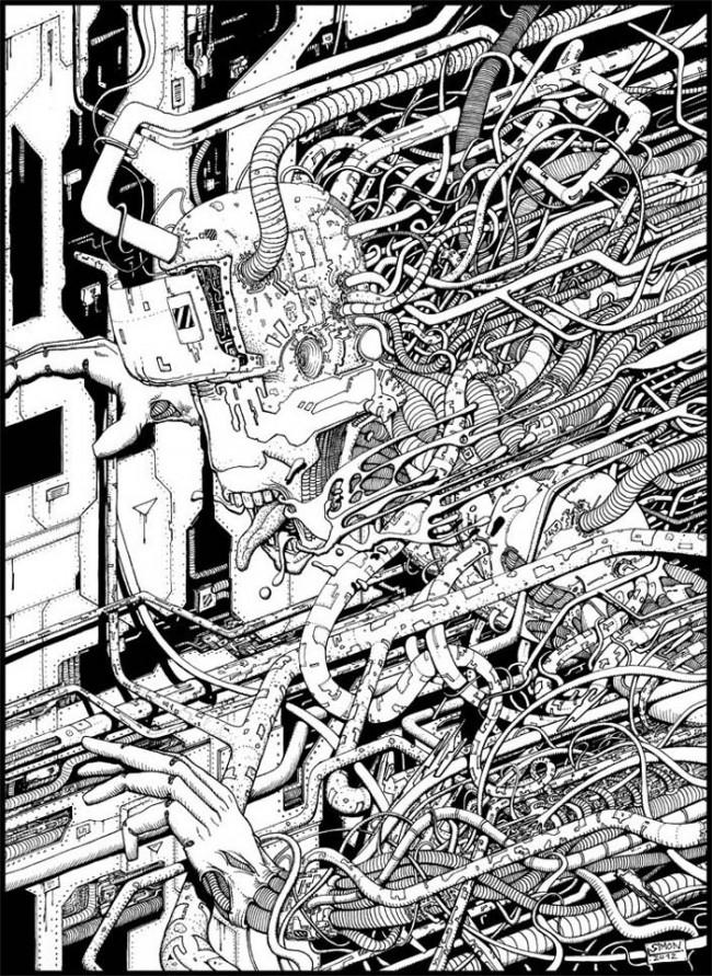 Simon Lejeune_Cybernetic Nightmare